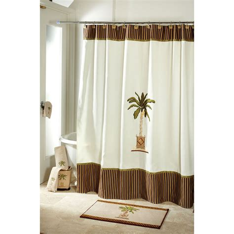 avanti banana palm shower curtain avanti banana palm shower curtain from beddingstyle com