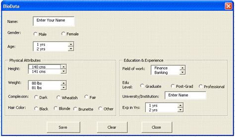 Excel Userform Layout | image gallery excel userform