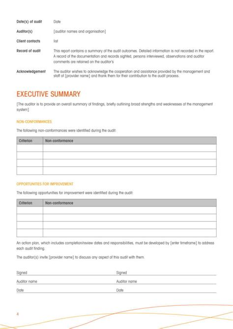 11 Compliance Audit Report Sles And Templates Pdf Word Sle Templates Compliance Audit Program Template