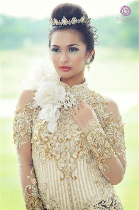 Dress Flow Putih 43 best images about akad nikah kebaya on lace