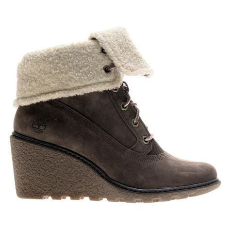 top winter boots for timberland amston roll top wedge boots s boots shoes