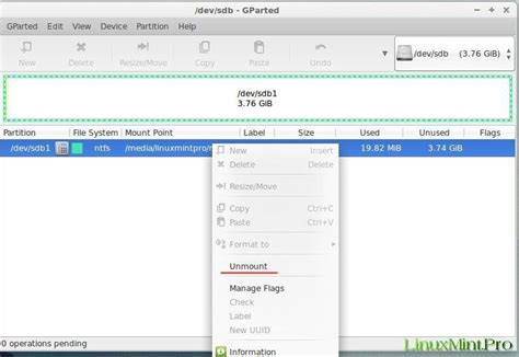 format html linux how to correctly format the usb stick in linux mint
