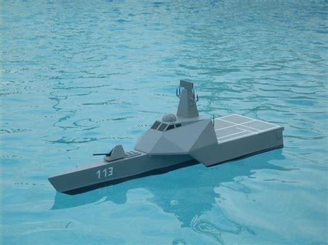 trimaran warship warships model boats