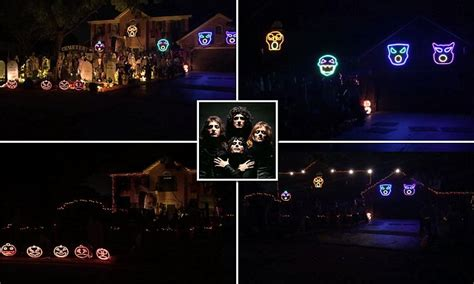 house lights synced to light perfectly synced to bohemian rhapsody