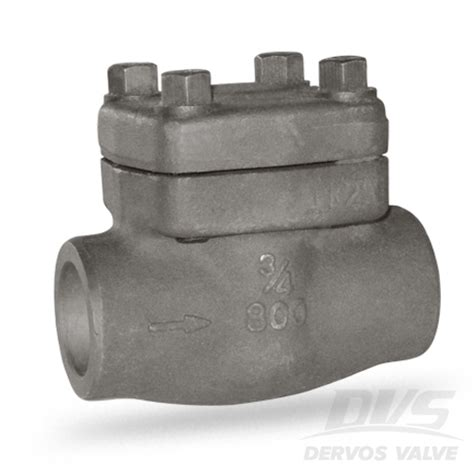 3 swing check valve forged swing check valve a105n 3 4in 800 sw dervos