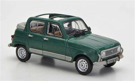 renault 4l r4 heuliez green 1981 mcw diecast model car 1