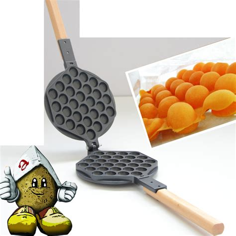 Best Seller Signora Waffle Egg Pan Cetakan Waffle Telur Bulat stove top nonstick hongkong egg puff iron eggettes egg waffle pan wafer egg makers in muffin
