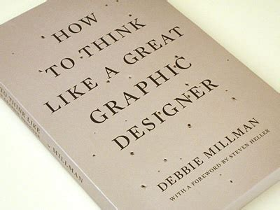 Book Review How To Think Like A Great Graphic Designer