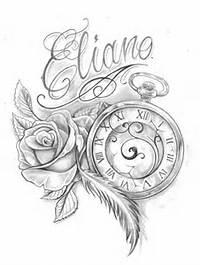 Tattoo Frauen Tattoos Oberschenkel Globus Kompass Mehr