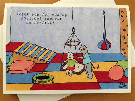Thank You Letter For Physical Therapy physical therapist thank you card 5x7 reduced price