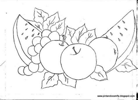imagenes para pintar manteles frutas para pintar en tela imagui