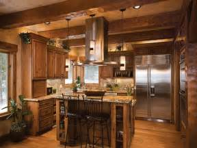 Log Cabin Kitchen Designs Log Home Open Floor Plan Kitchen Luxury Log Cabin Homes