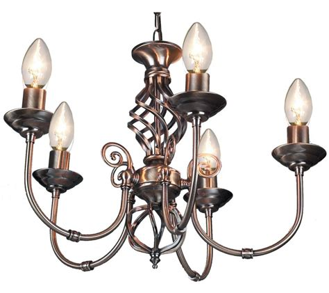 5 arm pendant ceiling light 5 arm chandelier traditional barley twist ceiling light