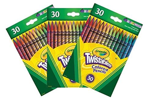 crayola 30 count twistable colored pencils best crayola twistable out of top 19