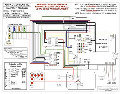 4 wire tub wiring diagram free printable