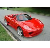 Ferrari 360 Spider Test Drive Gift Certificate  GTA Exotics