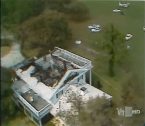 House Over Garage by Randy Rhoads Plane Crash Location Rock And Roll Gps