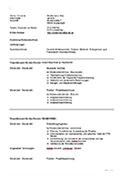 Lebenslauf Muster Referenzen Lebenslauf Vorlage Zum Hays