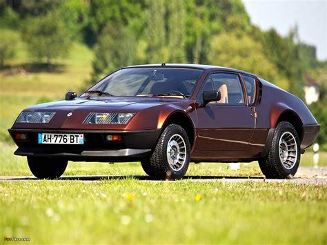 renault alpine a310 engine renault alpine a310 v6 complexmania