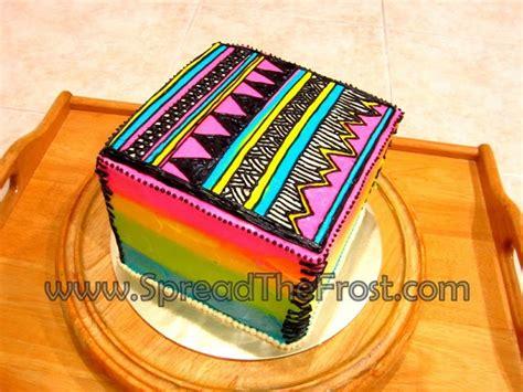 Tribal Pattern Cake | tribal pattern cake cake cupcakes pinterest
