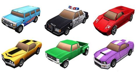 Gta Papercraft - grand theft auto chinatown wars lots of paper cars free