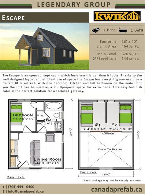 bunkie floor plans prefab cabin plans cabin designs canadaprefab ca
