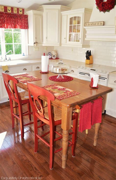 Farmhouse Kitchen Islands by Turn Your Kitchen Table Into A Farmhouse Island