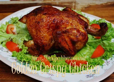 ayam goreng bakar chinese style golden crispy chicken