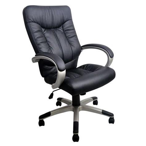 chaise de bureaux manager fauteuil de bureau noir grand confort achat