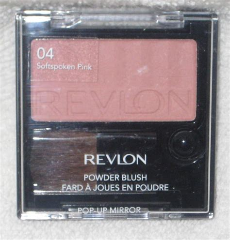 Revlon Blush On Spoken Pink revlon powder blush in softspoken pink 04 size