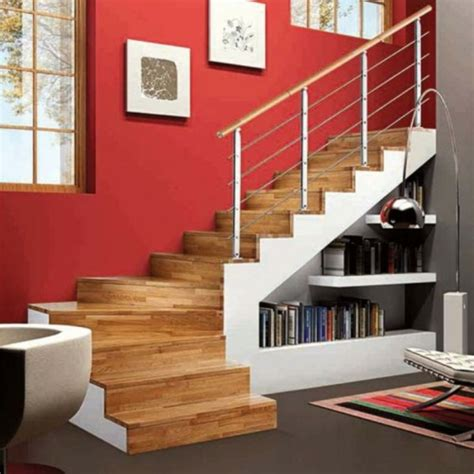 moderne bücherregale treppe design regal