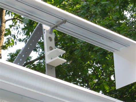 Awning Roof Mount Brackets by Roof Mount Awning Bracket With Awning Attached