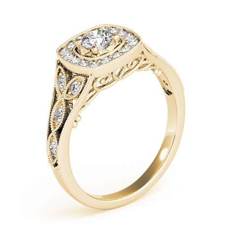 vintage european engagement rings from mdc diamonds nyc