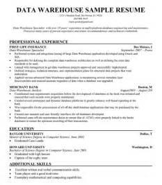 warehouse supervisor resume - Sample Resume For Warehouse Supervisor