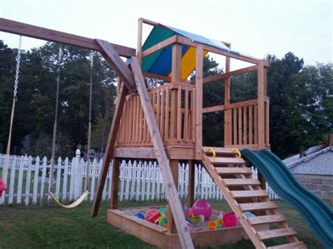 swing sets with sandbox 89 best images about jungle gym designs on pinterest diy