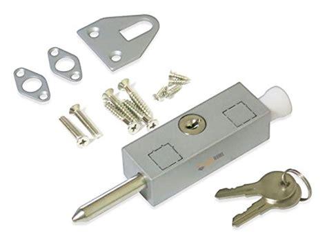 andersen patio door auxiliary security lock compare price sliding door foot lock on
