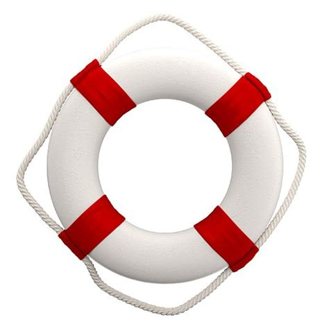 ring buoy 3d model decorative