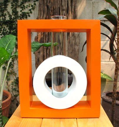 handmade whites modern art mango wood vase wedding vase rectangular shape modern art mango wood vase