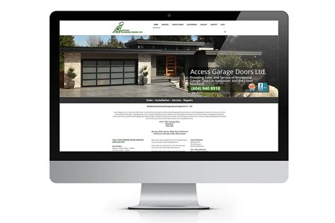 Garage Web Doors Website Empire Windows Website Responsive Design
