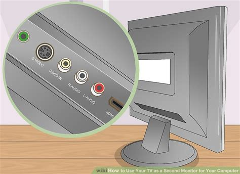 can you use an hdmi tv as a computer monitor how to use your tv as a second monitor for your computer