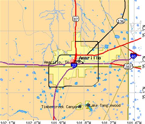 map of texas showing amarillo amarillo texas tx profile population maps real estate averages homes statistics