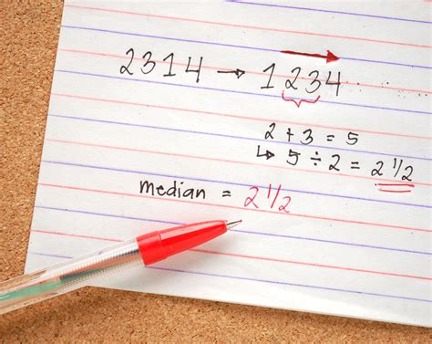 Www Find How To Find The Median Of A Set Of Numbers 6 Steps