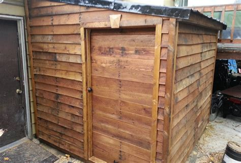 finished pallet shed from free materials 6