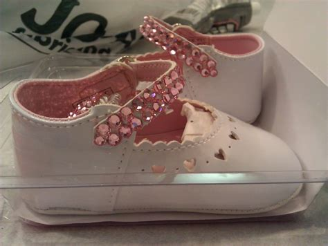 diy rhinestone baby shoes