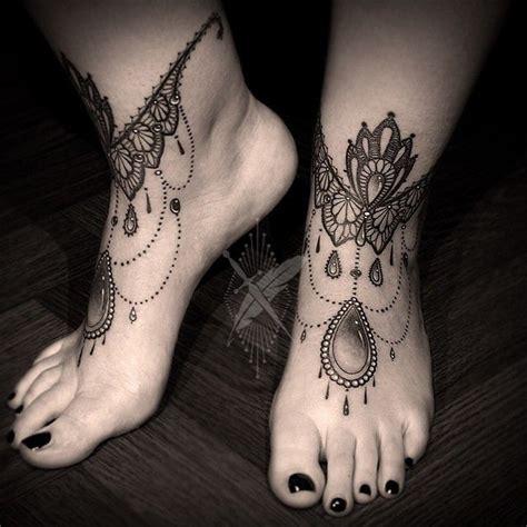 wrist lace tattoo lace anklets by kidkros split croatia traveling