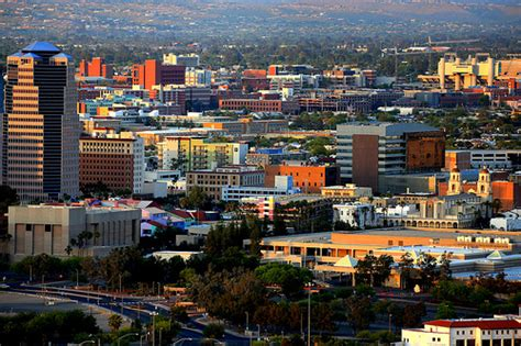 city of tucson section 8 tucson the downtown section of tucson just before sunset