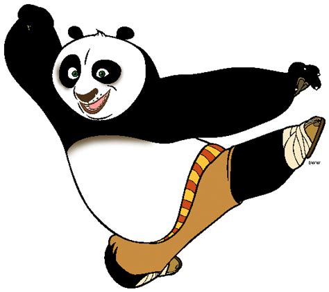 best free po kung fu panda clip clipart best