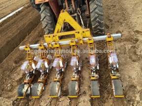 multi row precision vegetable seed planter tractor mounted