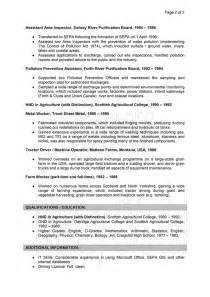 Curriculum Vitae For Court by Resume 201208