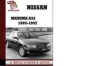 1998 nissan maxima repair manual